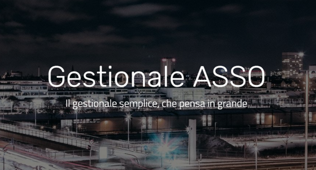 "ASSO Il ""gestionale facile"", in cloud"